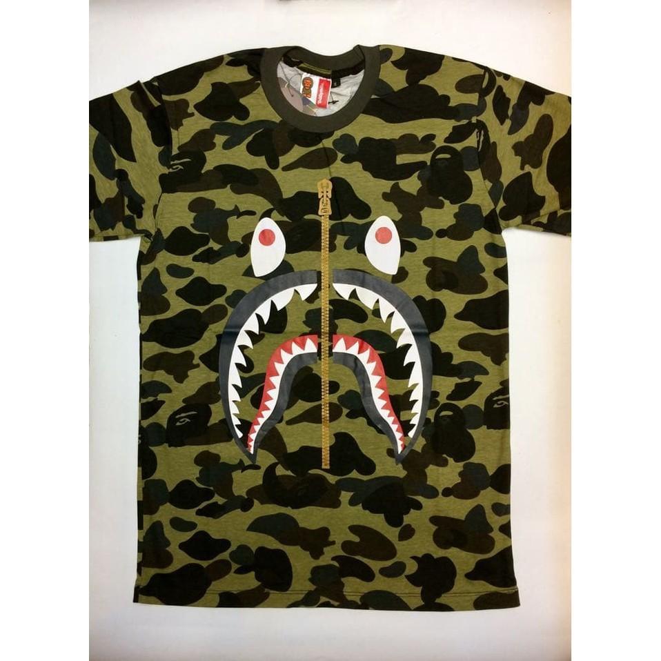 Kehebatan Baju Kaos Raglan Reglan Army Doreng Camo Tentara Loreng Tni Cowok Gym Fitness Tshirt Branded Pria Premium Bape Shark Bathing Ape Ely5qb