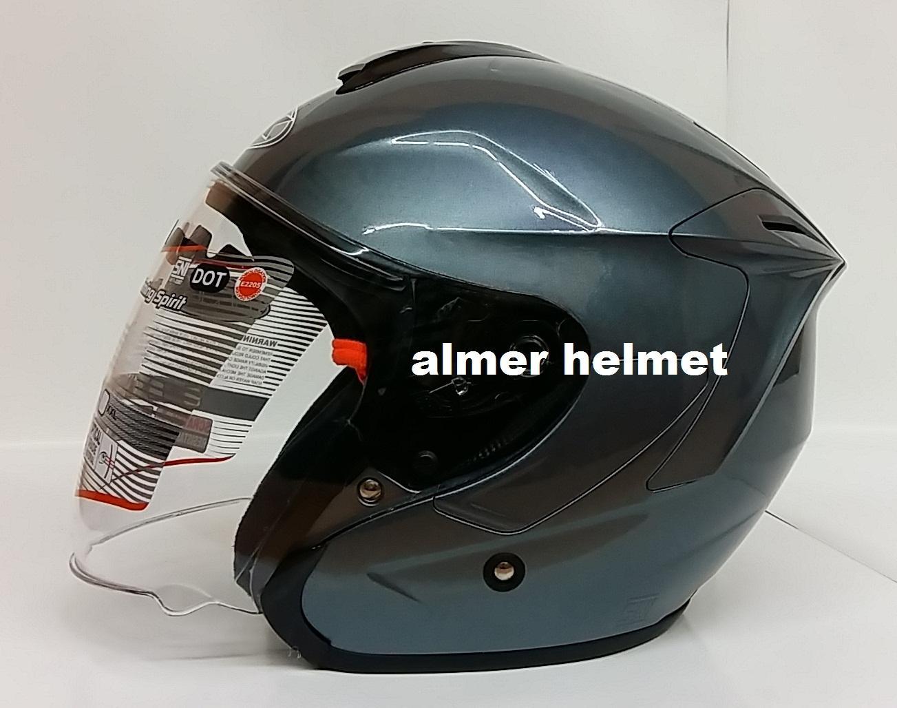 Kehebatan Helm Ink Cl Max Solid Black Dop Full Face Dan Harga Update Visor Dark Smoke Dynamic Half All Grey Metalik
