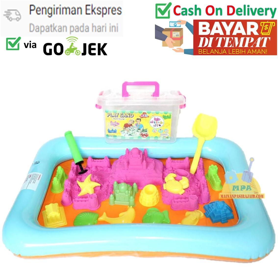 Kehebatan Pempek Candy Paket B Besar 2 Kg Dan Harga Update A Mainan Edukasi Pasir Ajaib Play Sand Original
