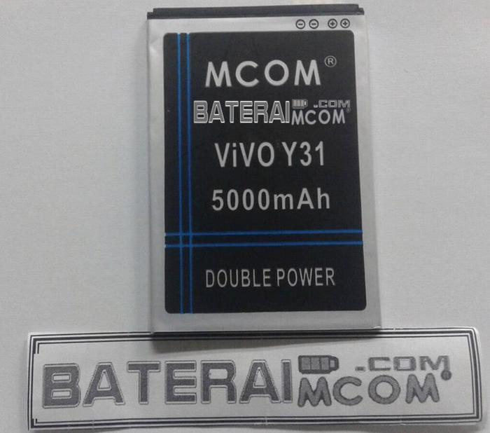 Baterai Battery Double Dobel Power Vivo Y31 Mcom 5000Mah