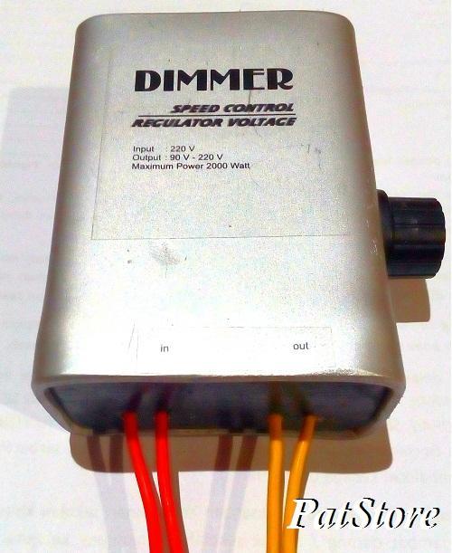 Dimmer SCR 2000 Watt Regulator Voltage Speed Controller Pengatur Kecepatan Motor Suhu Pemanas