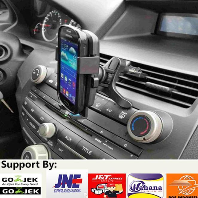 Sale Car Mount Air Vent Holder/ Tempat Dudukan Jepit Hp Di Dashboardmobil .