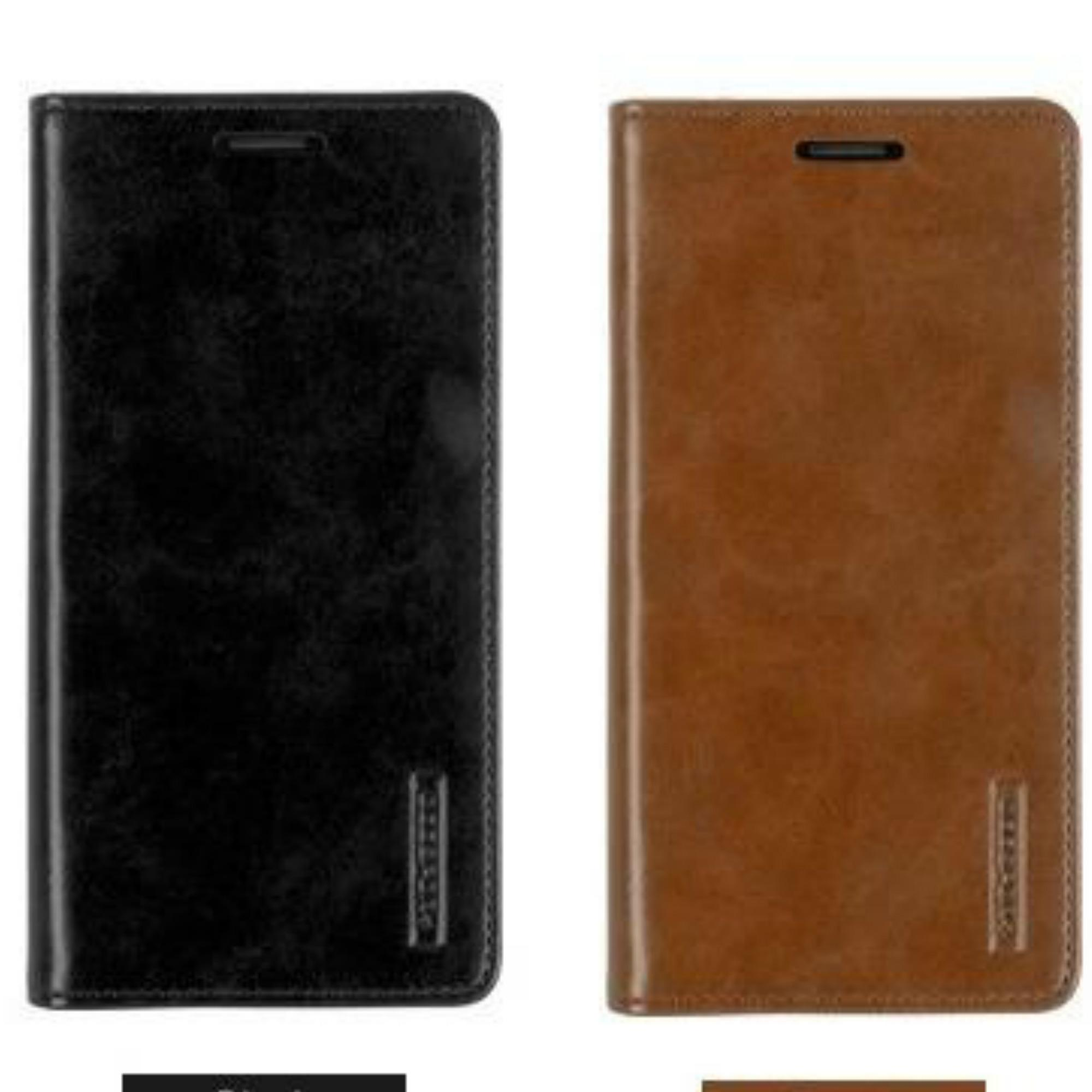 Goospery Mercury Sarung Kulit Leather Case Blue Moon Flip Samsung Galaxy S8 plus Come Store