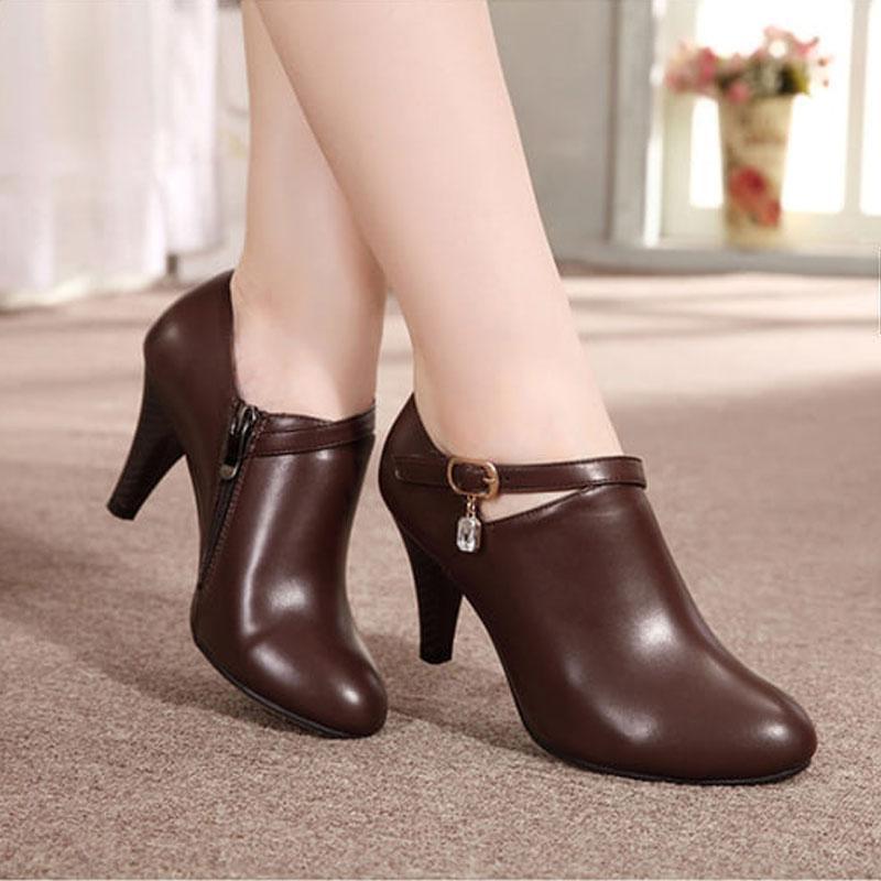Kehebatan High Heels Wanita Sepatu Kerja Sepatu Kantor Sepatu ... 0164392fd4