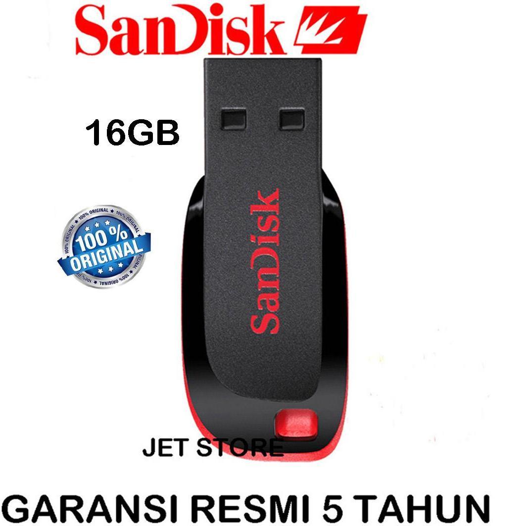 Sandisk Cruzer Blade Flash Disk 16GB - Hitam