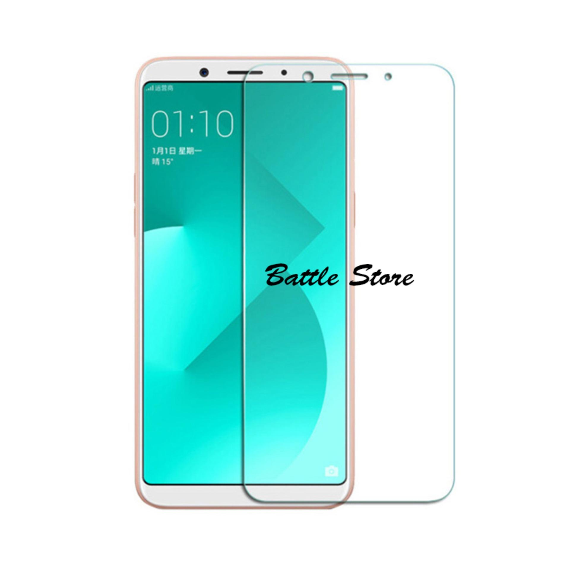Oppo A83 / Oppo A1 Screen Protector Tempered Glass / Anti Gores Kaca - White Clear