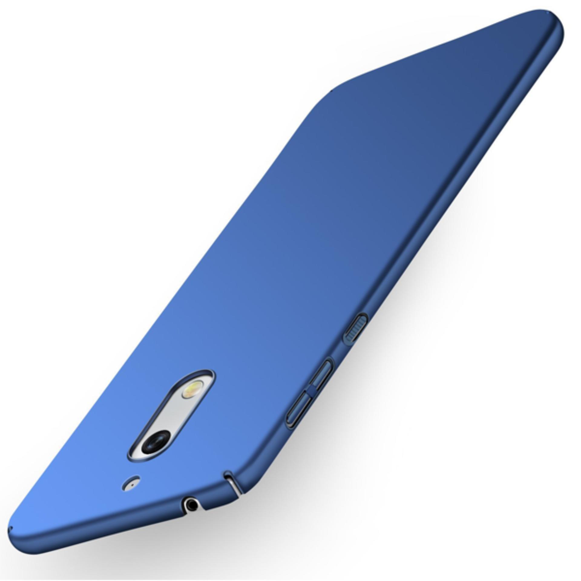 Case Dyval Softcase Nokia 6 Biru tua