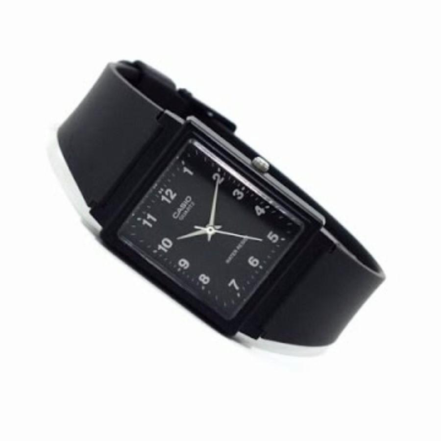 Casio Analog MQ-27-1BU - Jam Tangan Pria - Black - Strap Resin