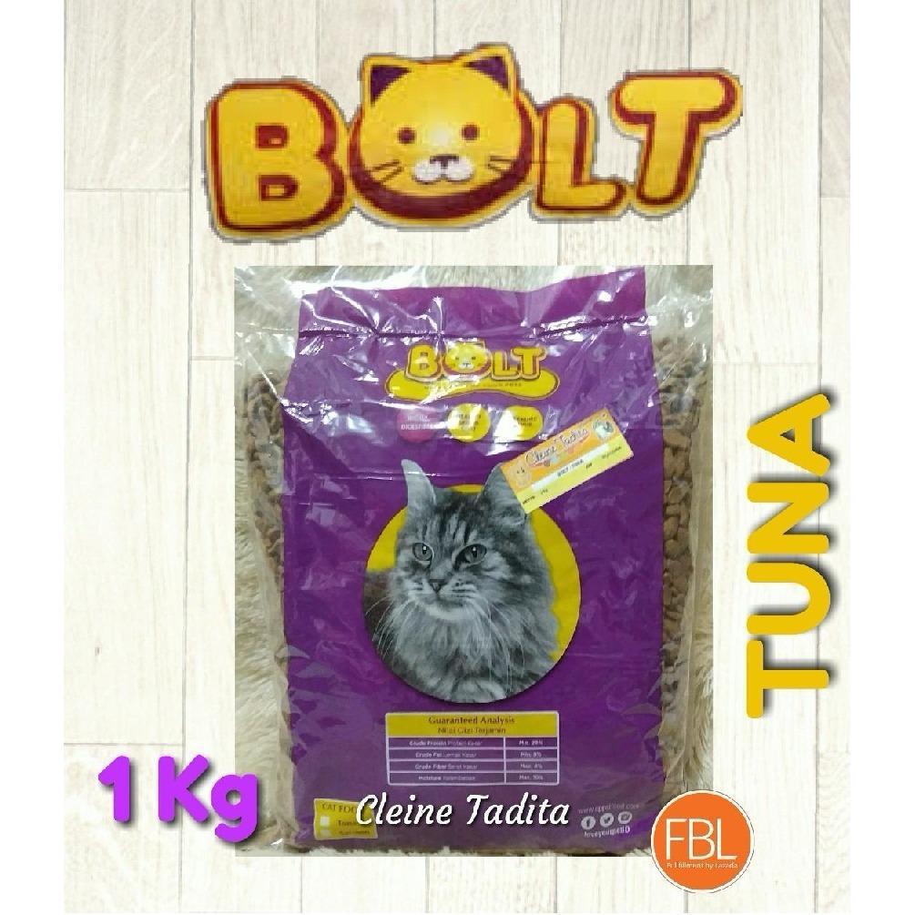 Kehebatan Makanan Kucing Cat Food Bolt Fish Tuna Repack 1kg Dan Nice Cleine Tadita Petshop Donat