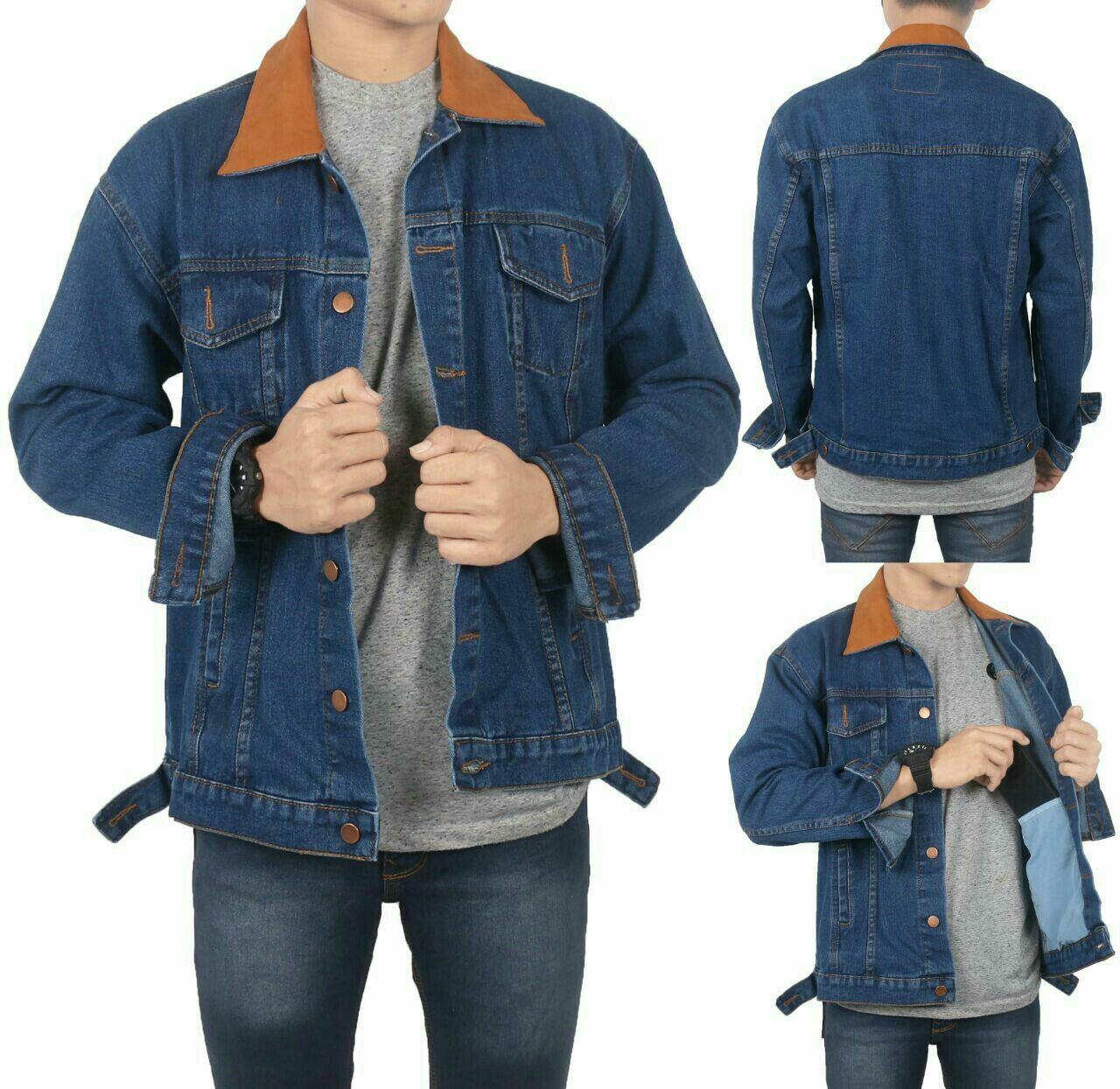 DNA Jaket Dilan / Jaket Jeans Dilan / Jaket Jeans Pria