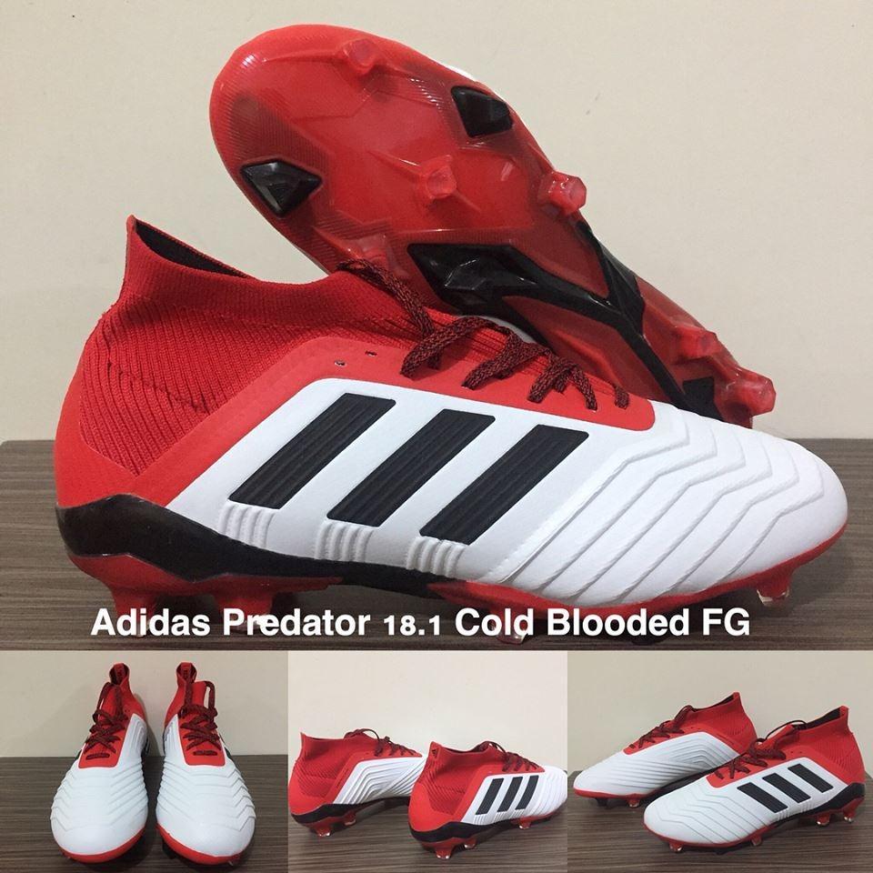 Sepatu Futsal Predator 18 IC Black White Terbaru. Source · Sepatu Bola  Adidas Predator 18.1 Cold Blooded FG 17c969f6ce