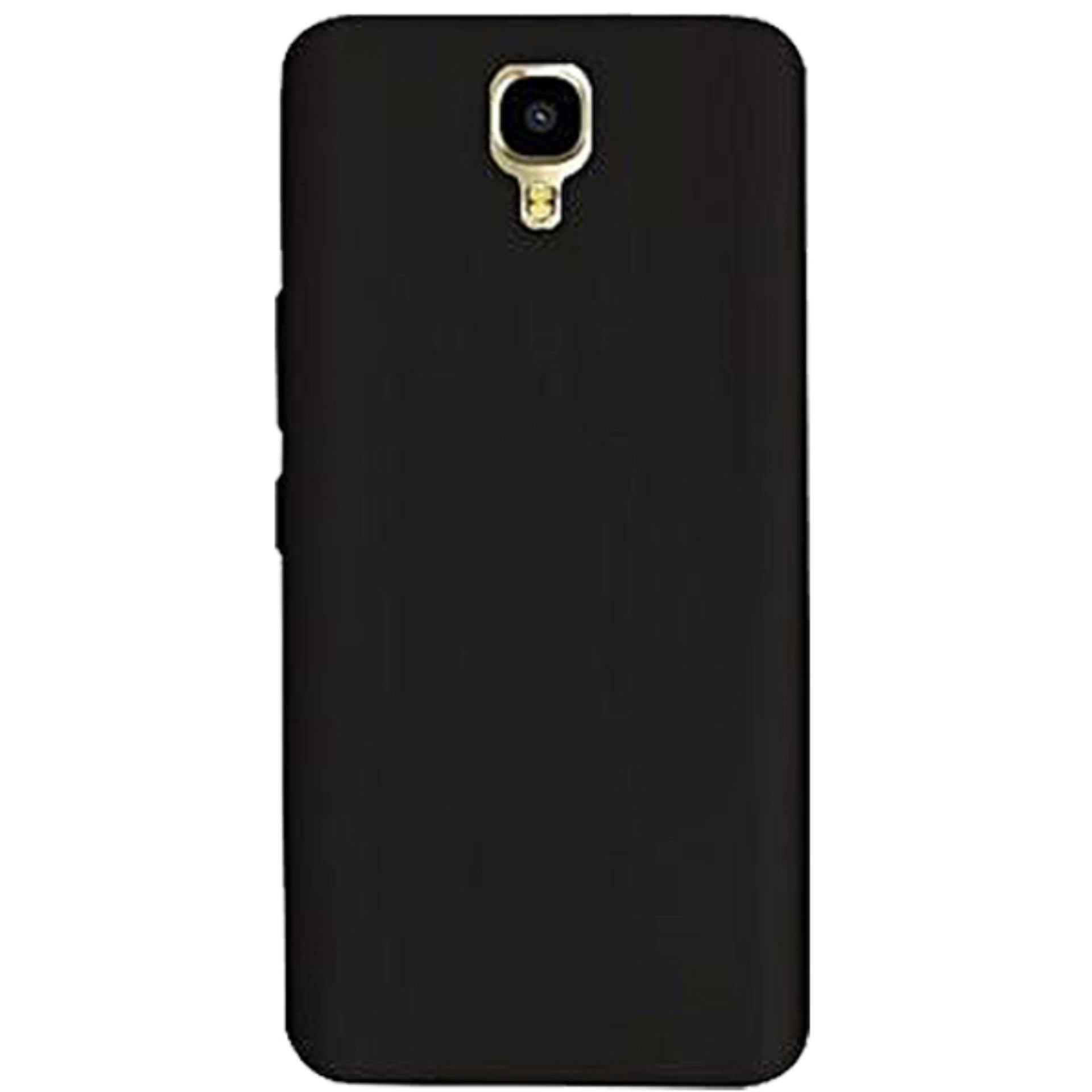 Case Slim Black doff Matte Anti minyak For Infinix Note 4 - X572 - Black Doff