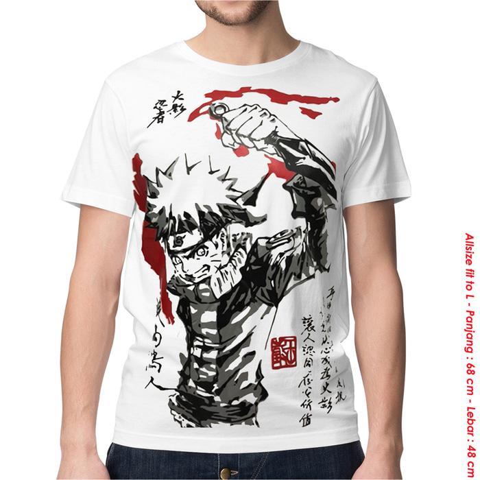 Cek Harga Baru Kaos Baju Distro Anime Naruto 2 Face Spandex Terkini ... 5915d1a29a