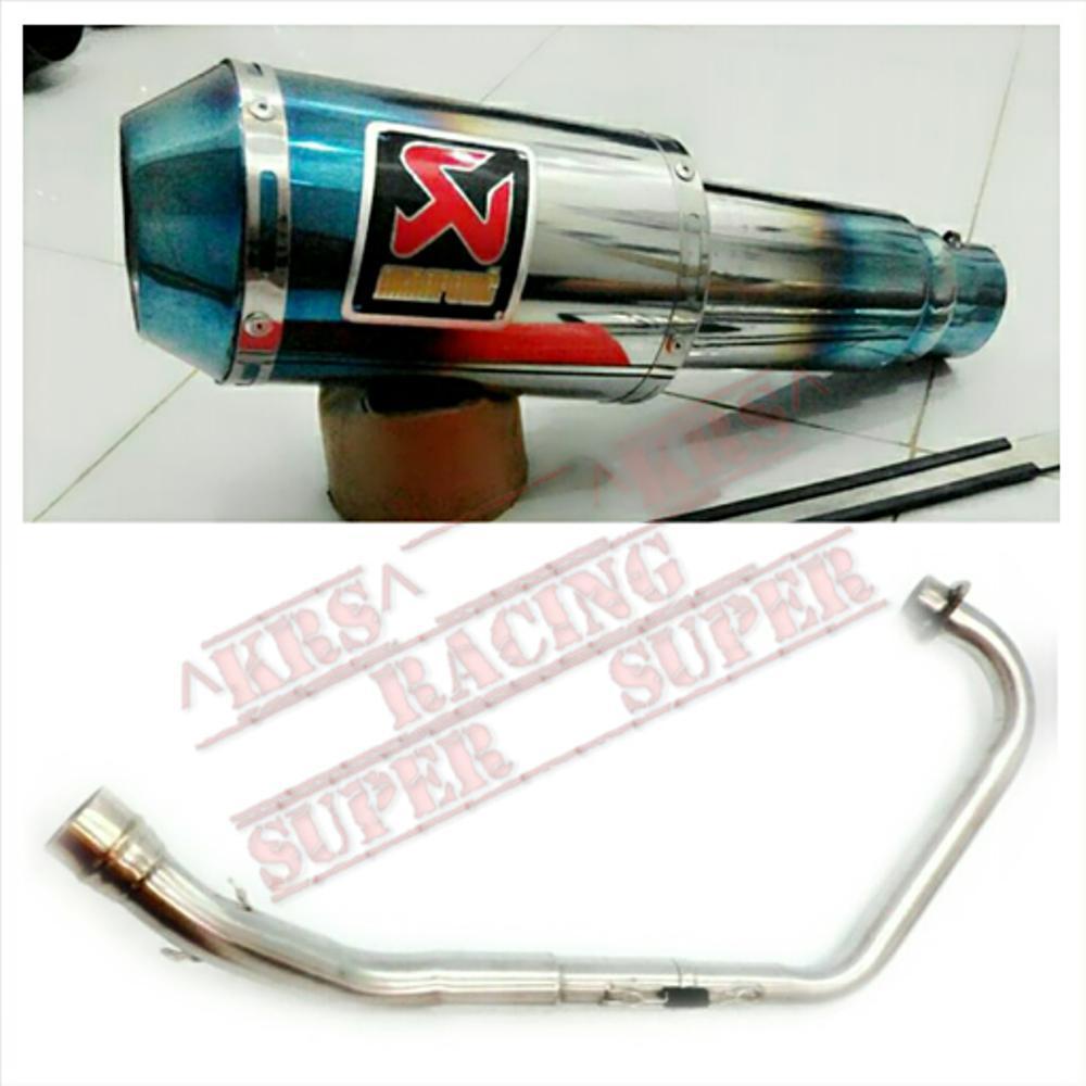 Kehebatan Knalpot Racing Akrapovic Gp M1 Burntip Fullsystem Tinggal R9 Full System New Mugello Yamaha Byson Pasang For All Motor 150cc Xabre Vixion