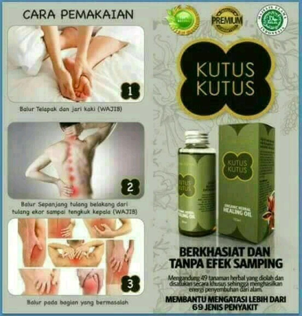 Minyak Kutus Kutus Bali Healing Oil