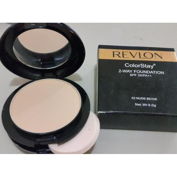 Revlon New Complexion Two Way Foundation 06. Honey Beige. Source · Revlon 2In1 Colorstay 2 Way Foundation Murah