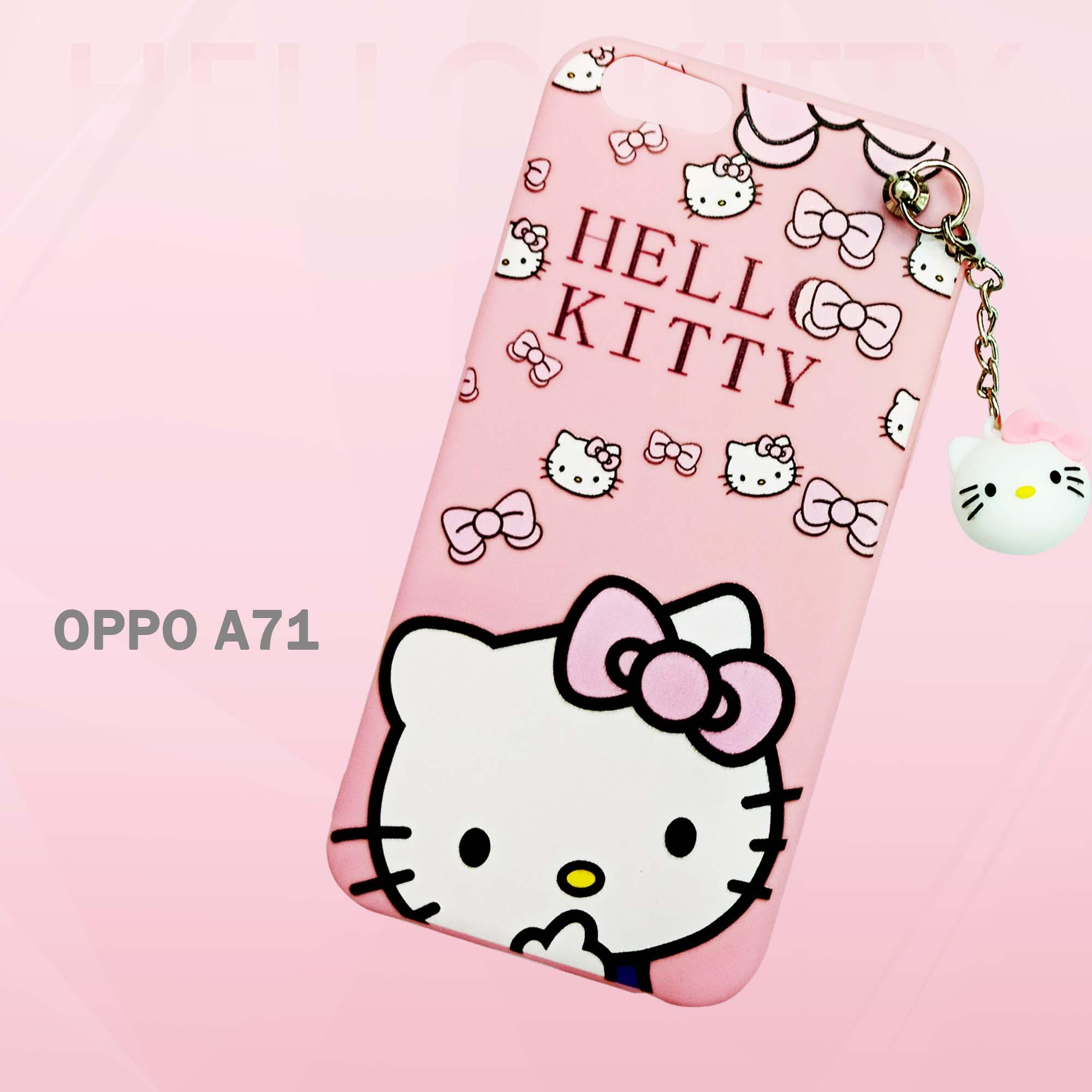 Marintri Case Oppo A71 New Hello Kitty Fashion Gantel