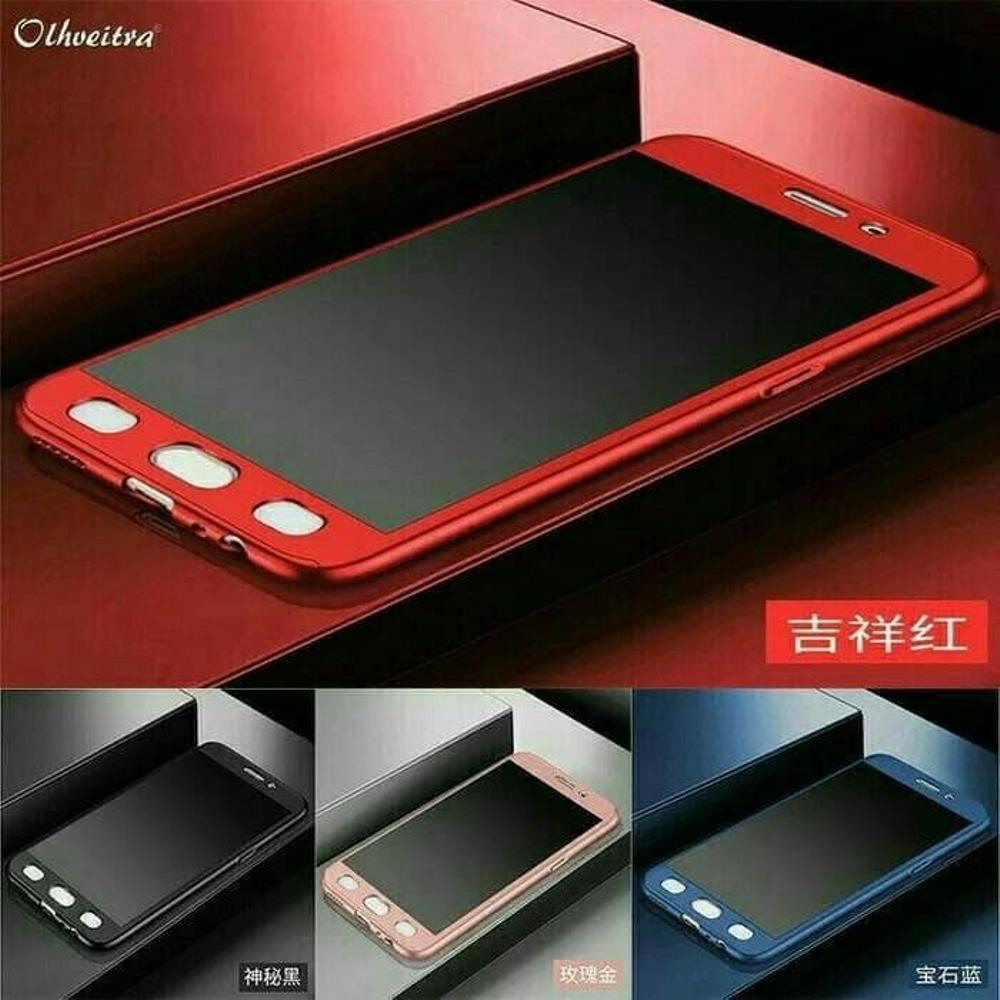 Hardcase 360 NeoHybird Xiaomi Redmi 4X Full Body protect Free Tempered Glass (Red) -