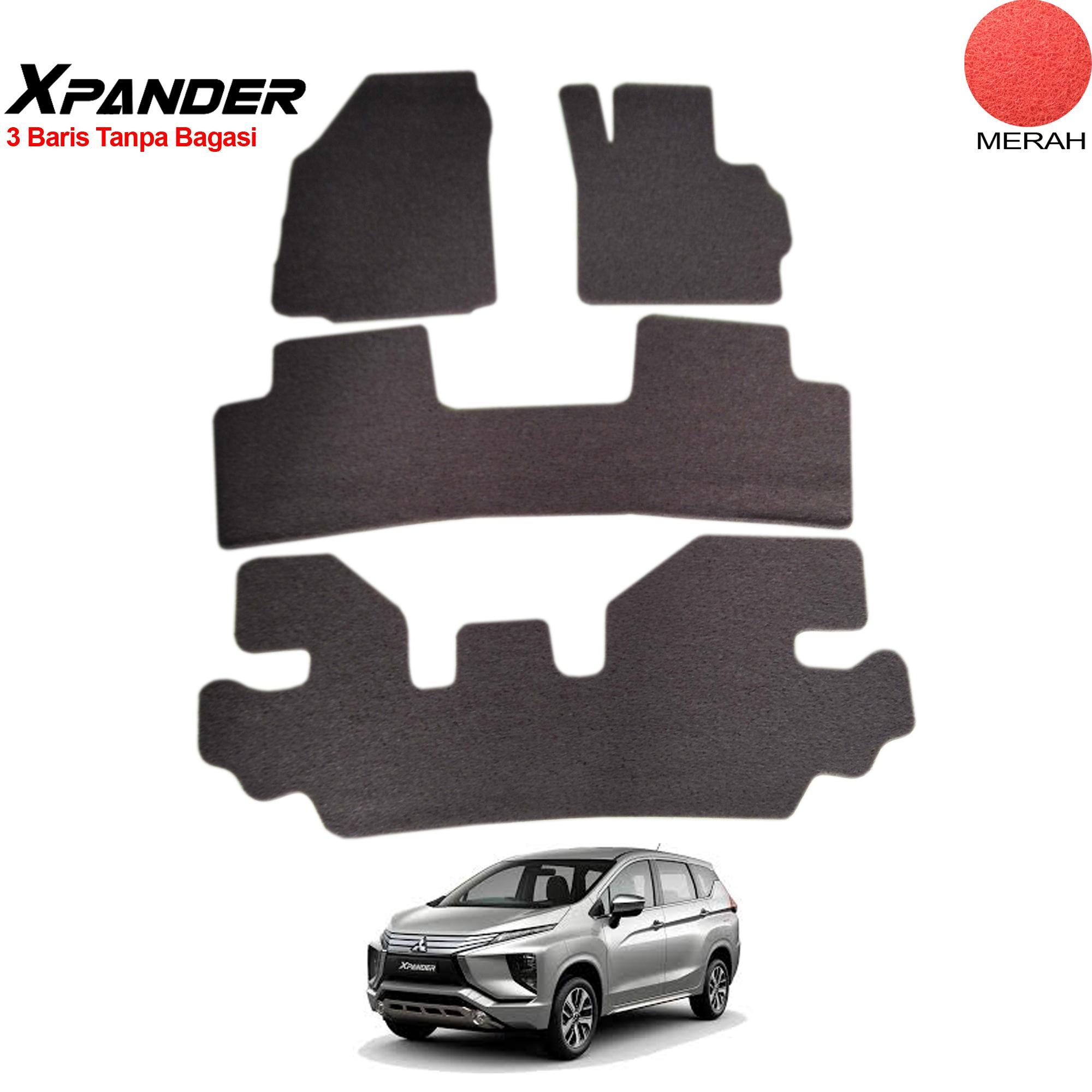 Kehebatan Aksesoris Mobil Mitsubishi Xpander List Kaca Samping Depan Karmob Karpet Mie Karet Lantai