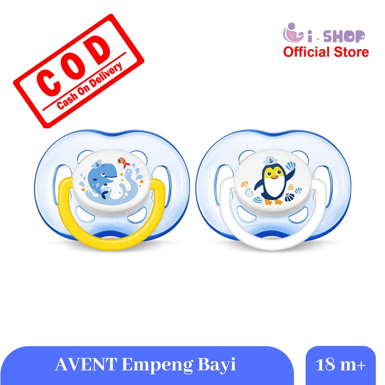 i-shop Philips Avent Pacifiers 18m+ / Dot Empeng Bayi Usia 18 Bulan Keatas /