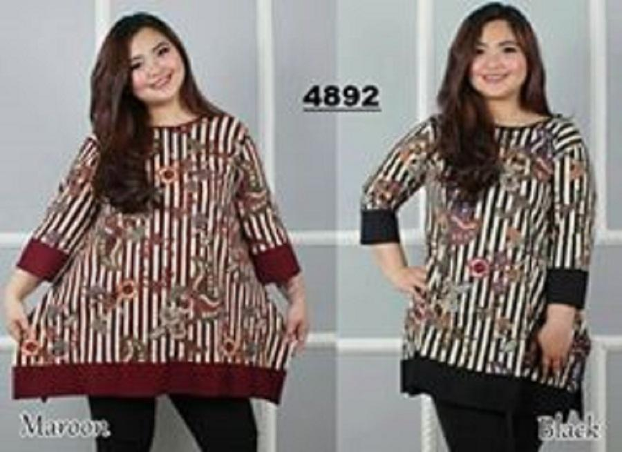 COUPLELOVER-TUNIK JUMBO KINARA-XXXL UKURAN BESAR JUMBO FASHION BLOUSE TUNIK KEMEJA BIG SIZE