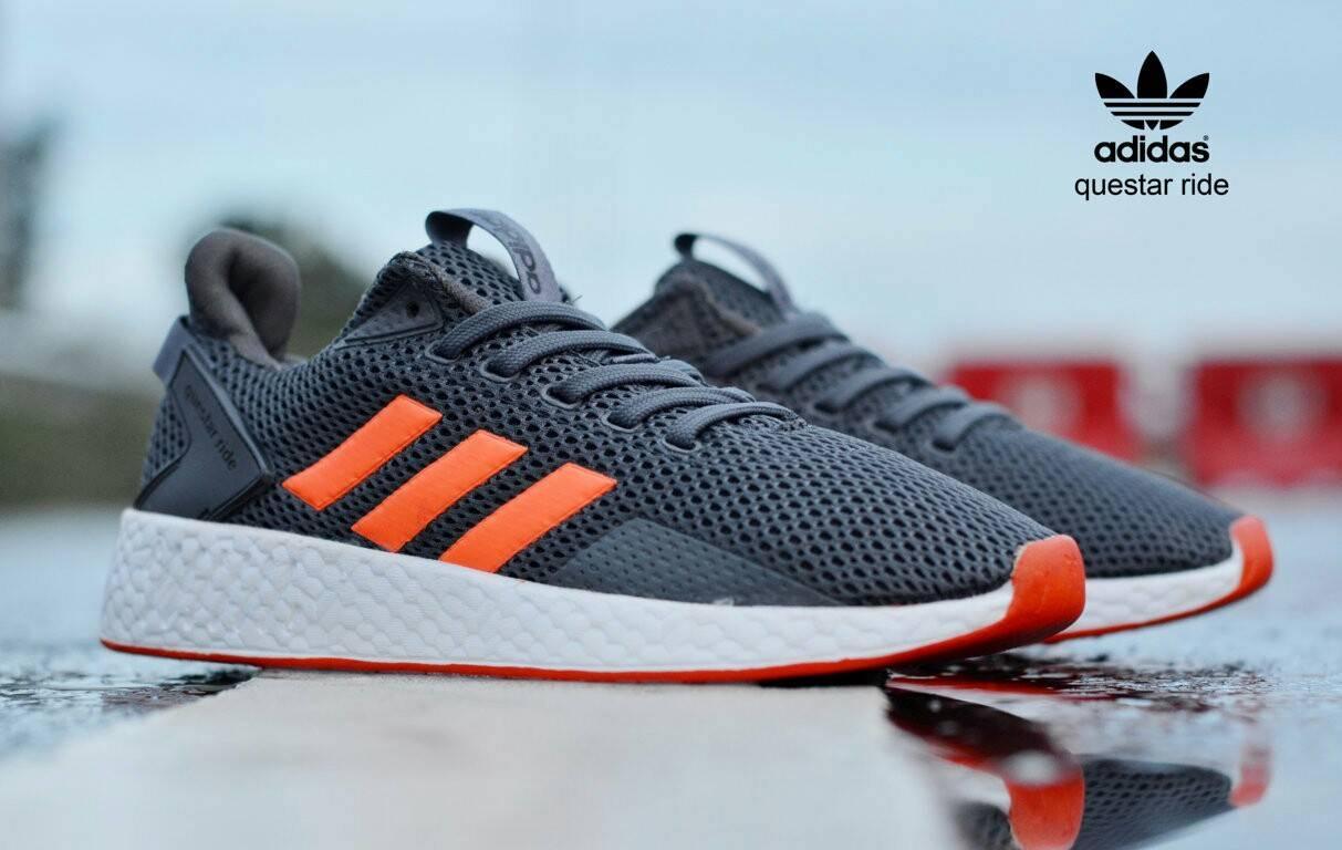 98c828d08 Terlaris sepatu Adidas questar ride import olahraga sneaker pria lari gym  sport