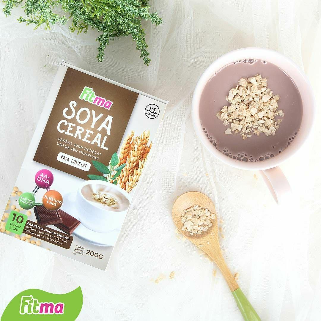 FITMA SOYA CEREAL BOOSTER PELANCAR ASI SUSU SEREAL KEDELAI DAUN KATUK Rasa: Coklat