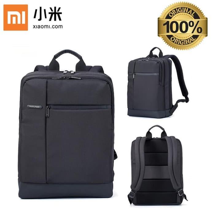 Xiaomi Bag Original Classic Business Backpack Tas Xiaomi Laptop Ransel - Hitam