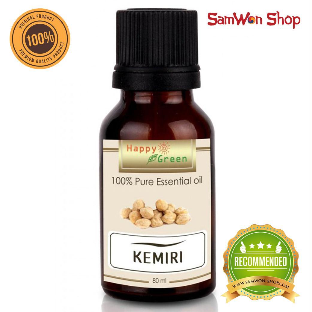 Kehebatan Bmks Minyak Kemiri Bpom Black Magic Natural Candlenut Oil Shampoo Happy Green Essential 80ml