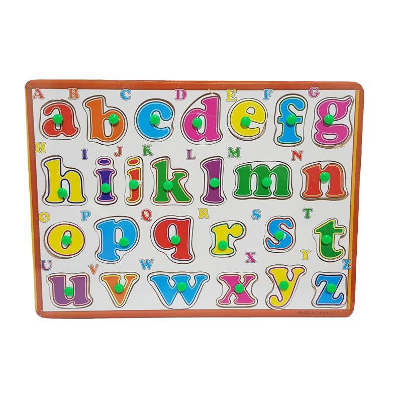Kayla Org Mainan Edukasi Puzzle Huruf Kecil plus Huruf Besar