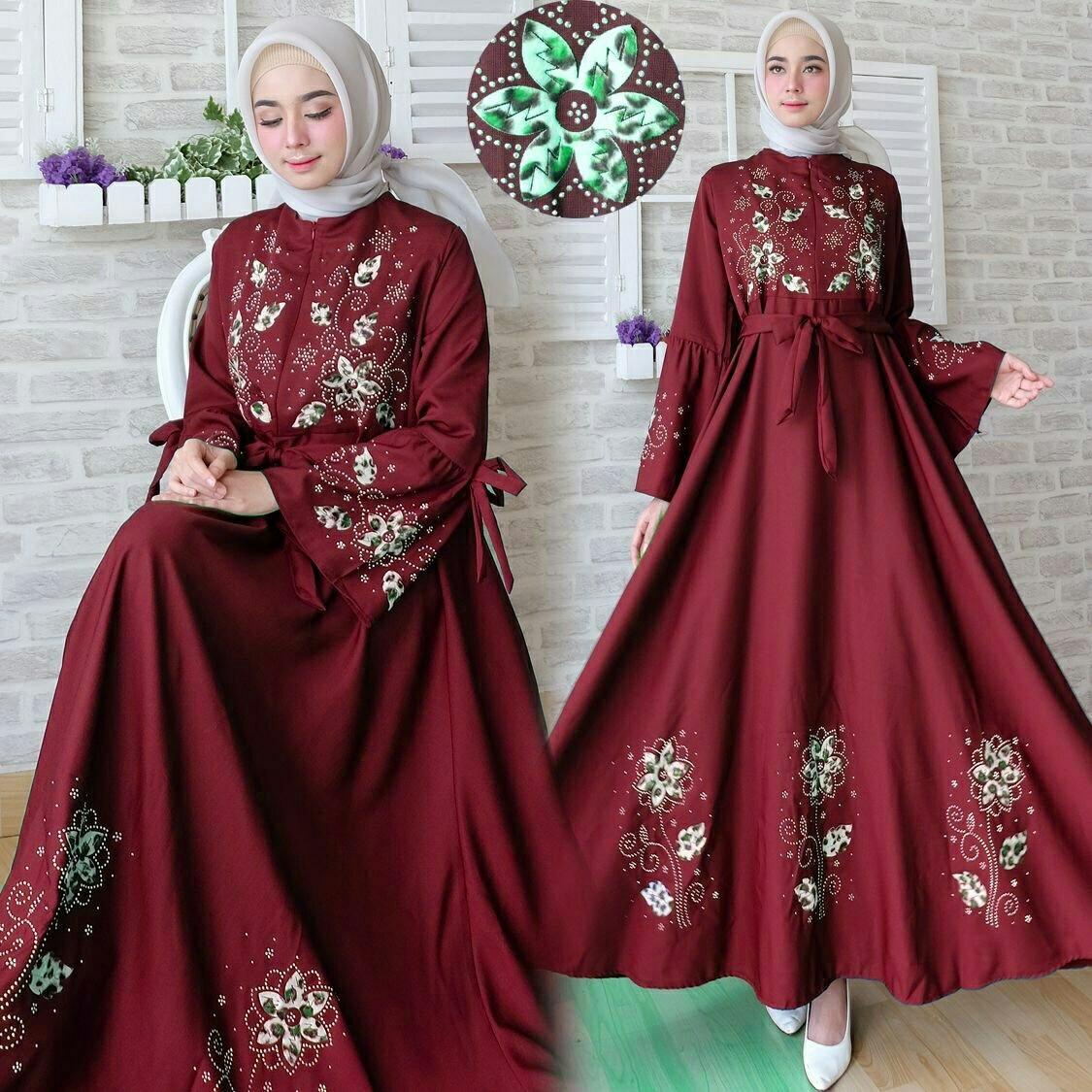 Kehebatan Baju Gamis Anak Muslimah Model Arsy Dan Harga Update