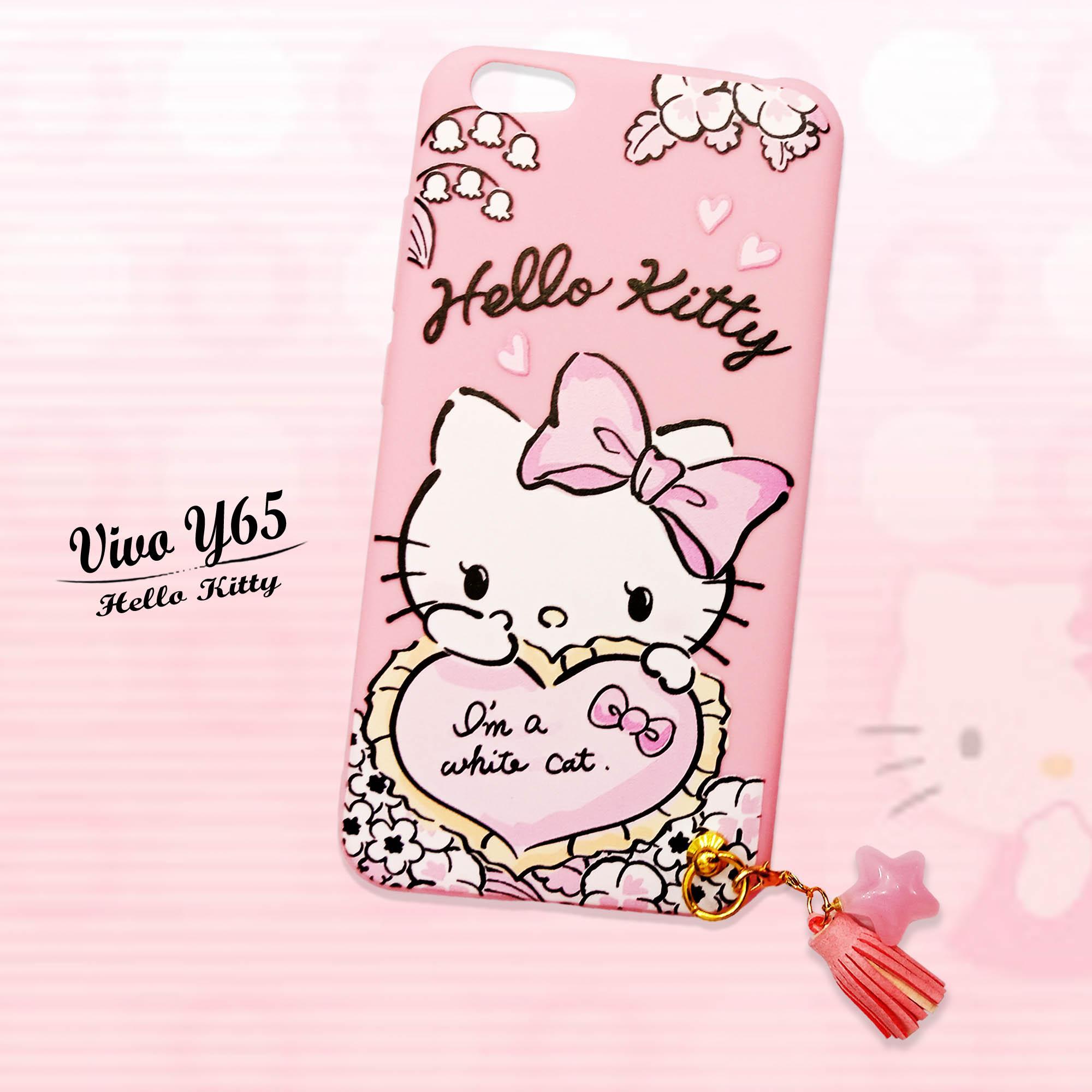 Marintri Case Vivo Y65 New Hello Kitty Melody