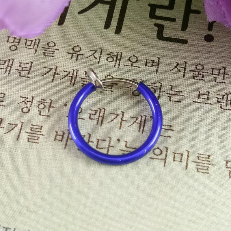 Anneui - BP0005 anting jepit fake piercing tanpa tindikan kpop korea jpop japan