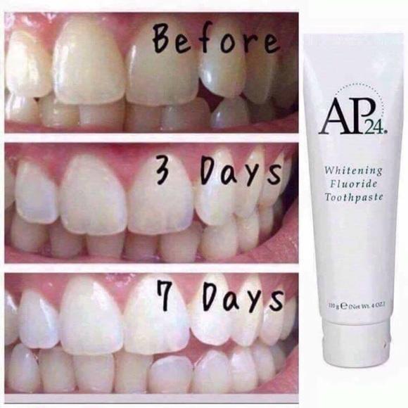 Kehebatan Ap24 Whitening Fluroide Toothpaste Pasta Pemutih Gigi Dan