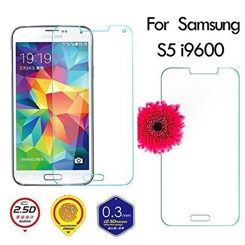 0.3 mm 9H Ultra Durable Tempered Glass Screen Film Protector Guard for Samsung Galaxy S5 i9600 (Intl)