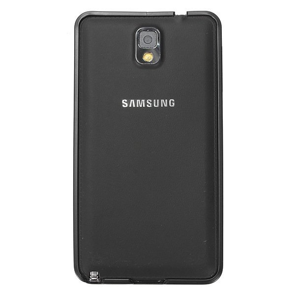 0.7mm Ultra Thin Aluminum Metal Frame Bumper Case forr Samsung Galaxy Note 3 N9000 (Black) (Intl)