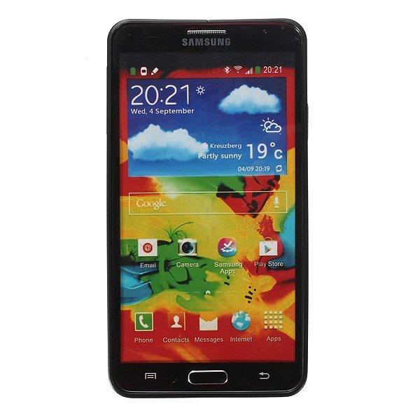 0.7mm Ultra Thin Aluminum Metal Frame Bumper Case forr Samsung Galaxy Note 3 N9000 (Black) (Intl)