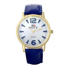 0031B Fashion Collocation Wrist Watch Blue (Intl)