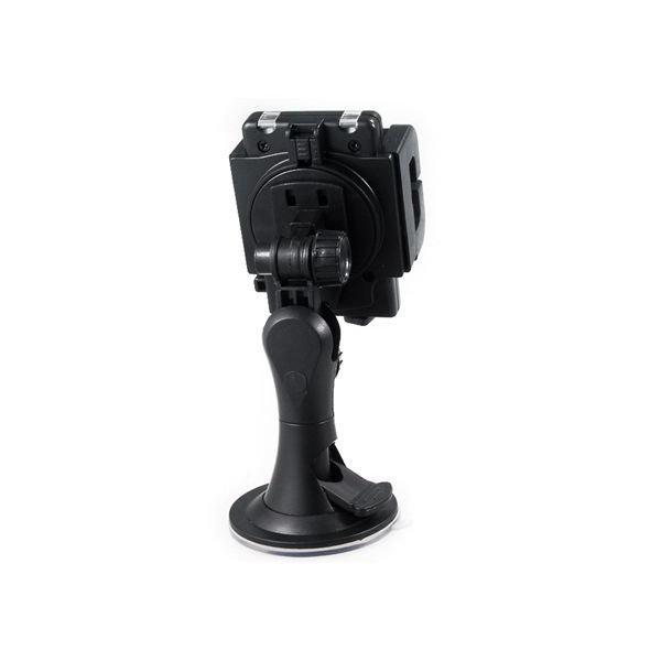 029 Universal Mobile Cell Phone Car Phone GPS Navigation Holder Windshield Mount Holder (Black)