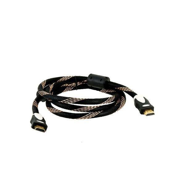 1.5m HDMI to HDMI Digital Audio/Video Cable Version 1.4 Black