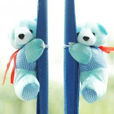 1 Pair Baby Bedroom Plush Bear Curtain Tieback Holder Hook Buckle Cartoon Decors (Intl)