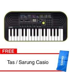 Casio Mini Keyboard SA-46 Free Tas/Sarung