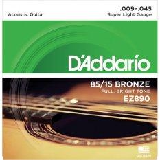 D'Addario Senar Gitar Akustik String American Bronze-EZ890