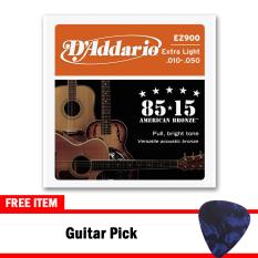 D'Addario Senar Gitar Akustik String American Bronze - EZ900