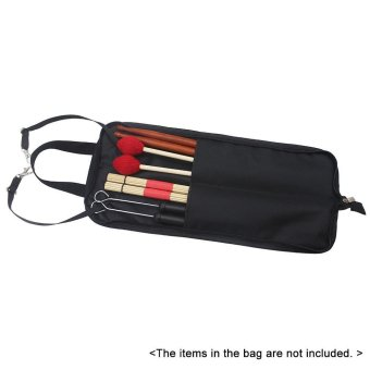 Drum Stick Bag Case Water-resistant 600D with Carrying Strap for Drumsticks Outdoorfree - intl