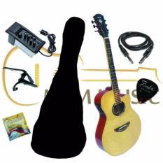 Gitar akustik elektrik model yamaha apx 500i custome