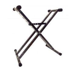Keyboard Stand Double - Hitam