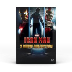 Marvel Iron Man : 3-Movie Collection (Dvd Box Set)