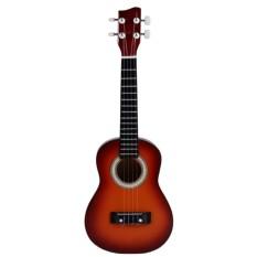 Modernlifeshop Ukulele Gitar Kecil Kencrung Buatan Tangan Brown