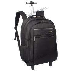 Navy Club Tas Laptop Backpack- Ransel Trolley travel Tahan Air TR-38 - Hitam